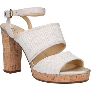 Sapatos Mulher Sandálias Geox D824LA 06RBC D MAUVELLE Hueso