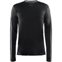 Textil Homem T-shirt mangas compridas Craft CT089 Preto