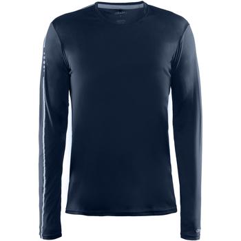 Textil Homem T-shirt mangas compridas Craft CT089 Marinha