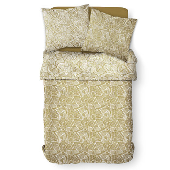 Casa Conjunto de roupa de cama Today MAWIRA 2.16 Amarelo