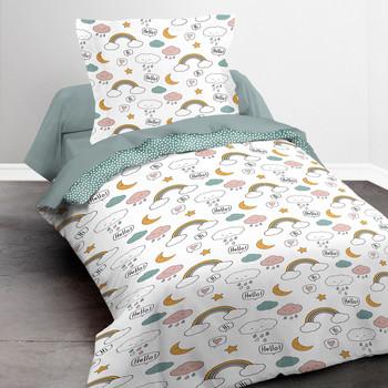 Casa Rapariga Conjunto de roupa de cama Today SWEETY 1.15 Branco