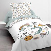 Casa Rapariga Conjunto de roupa de cama Today KOOL 1.11 Branco