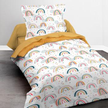 Casa Rapariga Conjunto de roupa de cama Today HAPPY 2.13 Branco