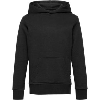 Textil Rapaz Sweats Jack & Jones 12183445 JJHEROS SWEAT HOOD  BLACK Negro