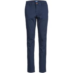 Textil Rapaz Chinos Jack & Jones 12160028 JJIMARCO JJBOWIE SA NAVY BLAZER NOOS JR NAVY BLAZER Azul marino