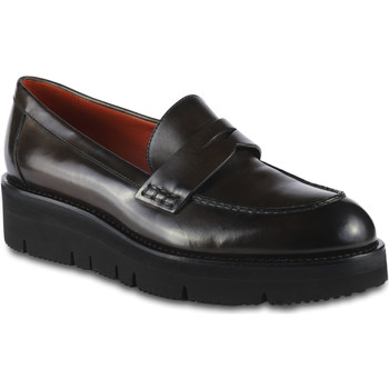 Sapatos Mulher Mocassins Santoni WUSY56863SQ4RLESM20 Grigio talpa