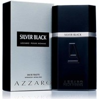 beleza Homem Eau de parfum  Azzaro Silver Black - colônia - 100ml - vaporizador Silver Black - cologne - 100ml - spray