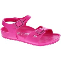 Sapatos Rapariga Sandálias Birkenstock Rio Eva Rosa