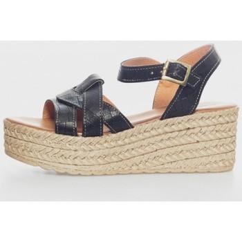Sapatos Mulher Sandálias Kamome R-335-5-Z Negro