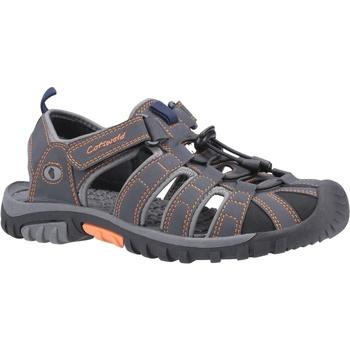 Sapatos Homem Sandálias Cotswold  Cinza/ Laranja