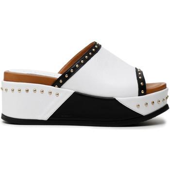 Sapatos Mulher Chinelos Café Noir HH1360 Branco