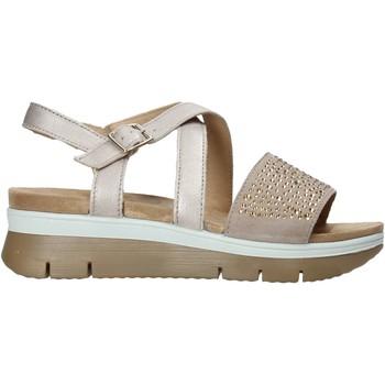 Sapatos Mulher Sandálias Enval 7283622 Castanho