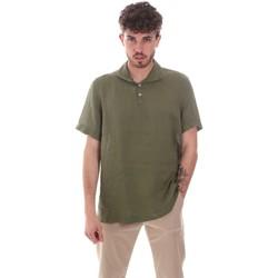 Textil Homem Camisas mangas curtas Sseinse CE660SS Verde