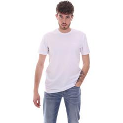 Textil Homem T-Shirt mangas curtas Antony Morato MMKS01855 FA120022 Branco