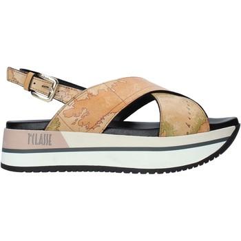 Sapatos Mulher Sandálias Alviero Martini E109 8391 Castanho