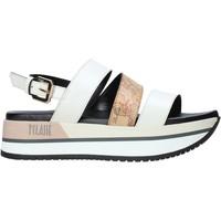 Sapatos Mulher Sandálias Alviero Martini E110 578A Branco
