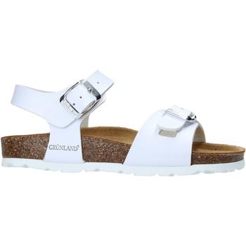 Sapatos Criança Sandálias Grunland SB1569 Branco