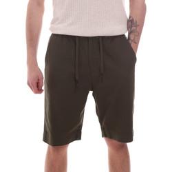Textil Homem Shorts / Bermudas Antony Morato MMSH00170 FA900128 Verde