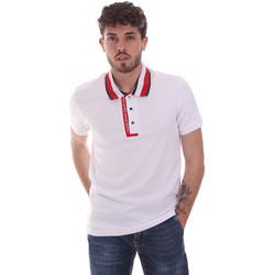 Textil Homem Polos mangas curta Gaudi 111GU64105 Branco