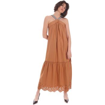 Textil Mulher Vestidos compridos Gaudi 111FD15012 Castanho
