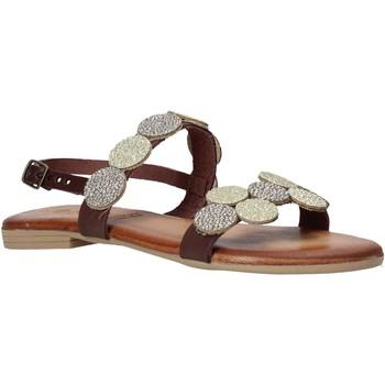 Sapatos Mulher Sandálias Dorea MH114 Castanho