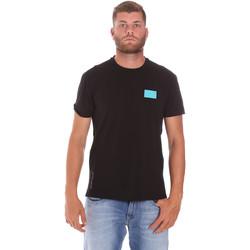 Textil Homem T-Shirt mangas curtas Ea7 Emporio Armani 3KPT50 PJAMZ Preto