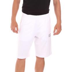 Textil Homem Fatos e shorts de banho Ea7 Emporio Armani 3KPS59 PJ05Z Branco