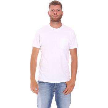 Textil Homem T-Shirt mangas curtas Sundek M050TEJ9300 Branco
