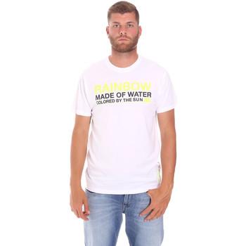 Textil Homem T-Shirt mangas curtas Sundek M058TEJ7800 Branco