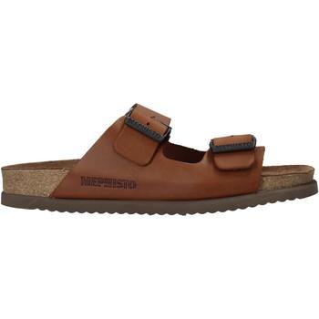 Sapatos Homem Chinelos Mephisto P5113700 Castanho