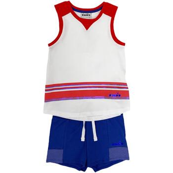 Textil Criança Conjunto Diadora 102175915 Branco