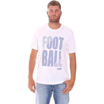 Textil Homem T-Shirt mangas curtas Diadora 102175854 Branco