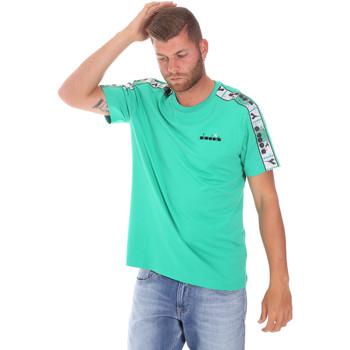 Textil Homem T-Shirt mangas curtas Diadora 502176085 Verde