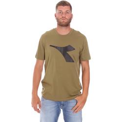 Textil Homem T-Shirt mangas curtas Diadora 102175852 Verde