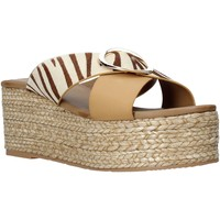 Sapatos Mulher Chinelos Gold&gold A21 GK98 Bege