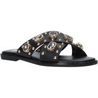 Sapatos Mulher Chinelos Gold&gold A21 GJ559 Preto