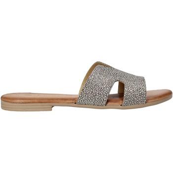 Sapatos Mulher Chinelos Dorea MH103 Cinzento