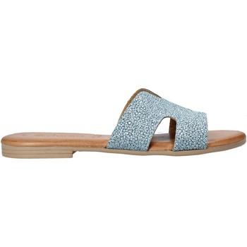 Sapatos Mulher Chinelos Dorea MH103 Azul