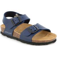 Sapatos Criança Sandálias Grunland SB1206 Azul