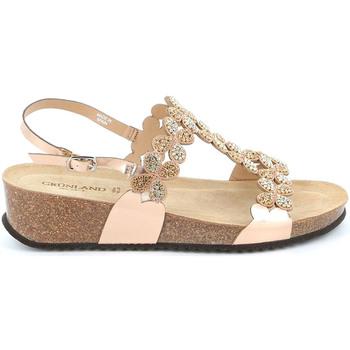 Sapatos Mulher Sandálias Grunland SB1595 Rosa