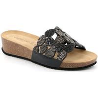 Sapatos Mulher Chinelos Grunland CB2488 Preto