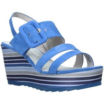 Sapatos Mulher Sandálias Marco Tozzi 2-2-28336-26 Azul