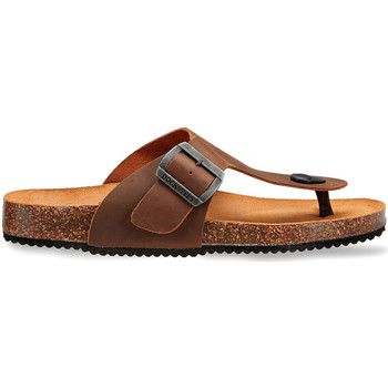 Sapatos Homem Sandálias Docksteps DSM228401 Castanho
