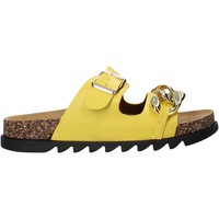 Sapatos Mulher Chinelos Gold&gold A21 FL160 Amarelo