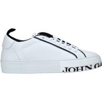 Sapatos Homem Sapatilhas John Galliano 11012/CP C Branco