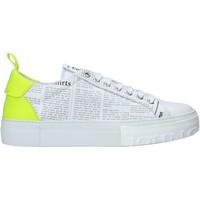 Sapatos Homem Sapatilhas John Galliano 11016/CP A Branco