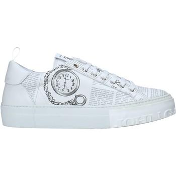 Sapatos Homem Sapatilhas John Galliano 11018/CP A Branco