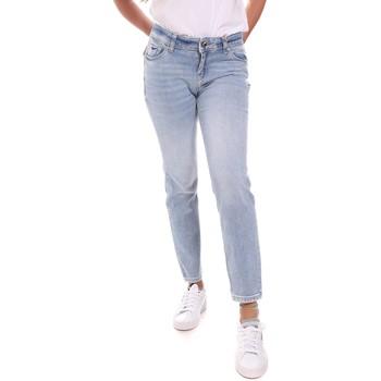 Textil Mulher Calças Jeans Gaudi 111BD26011 Azul