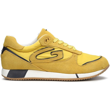 Sapatos Homem Sapatilhas Alberto Guardiani AGM003513 Amarelo