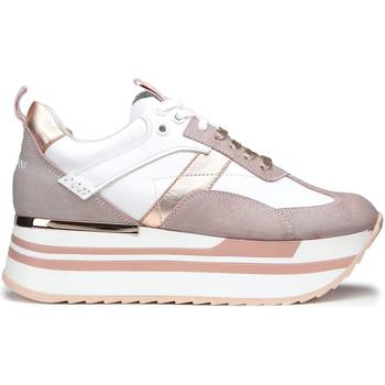 Sapatos Mulher Sapatilhas Alberto Guardiani AGW004302 Branco